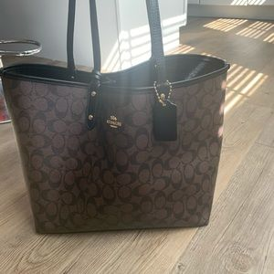 Coach Signature Reversible Tote